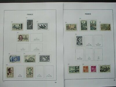 ESTATE: French Collection on Pages - Must Have!! Excellent Item! (p1085)
