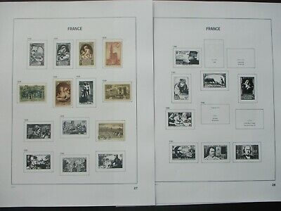 ESTATE: French Collection on Pages - Must Have!! Excellent Item! (p1091)