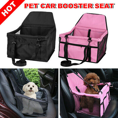 Car Dog Booster Seat Puppy Cat Auto Carrier Travel Protector Safety Pet Basket