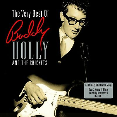 Buddy Holly - Very Best Of 3 Cd New!
