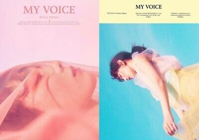 GIRLS GENERATION TAEYEON-[MY VOICE Deluxe]Random CD+80p Booklet+1pPhotoCard+Gift