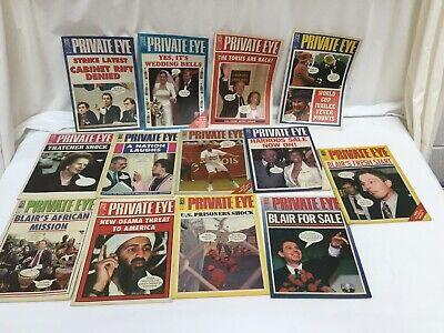 Private Eye Magazines,25 From 2002,And Others