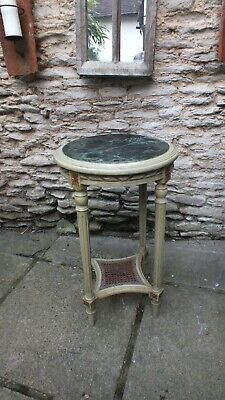French Louis XV style pained side table