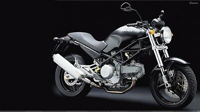 Manuale Officina Ducati Monster 400 & 620 Del 2004 ,foto A Colori+ Regali