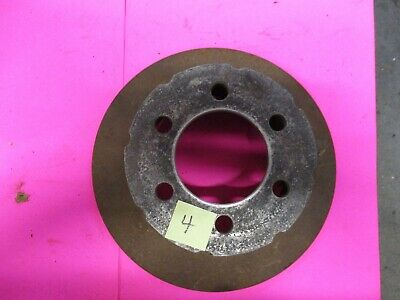 halibrand brake hat and rotor vintage sprint car kurtis kraft usac watson #4