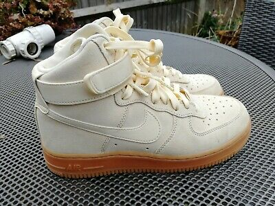 cheap for discount c7065 6fad4 Nike Air Force 1 High 07 LV8 AA1118-100 Muslin Suede - UK Size