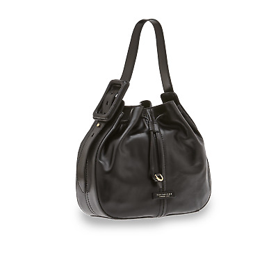 53caacac91 BORSA A SECCHIELLO The Bridge In Pelle 43769.4N.30 Nero Black Cuoio ...