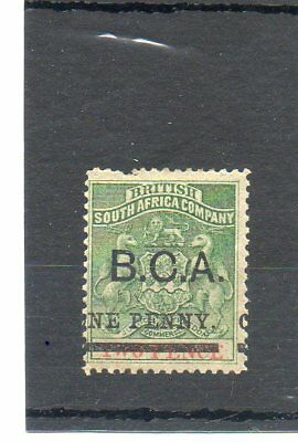 NYASALAND /BCA SG 20 MINT..1d ON 2d ..CAT £35..TWO SCANS..OVERPRINT ERROR..