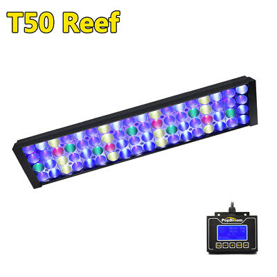 "NEW DSunY Dimmable Aquarium Led Lighting 24"" Reef Coral SPS LPS Fish Tank Light"
