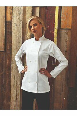 Premier Short Sleeve Chef's Jacket PR671