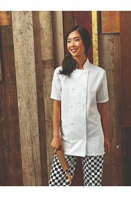 Premier Short Sleeve Chef's Jacket PR670