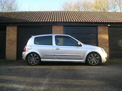 Renaultsport RS Clio 182 Full Fat Long MOT Cambelt and Dephaser done. HPI clear.