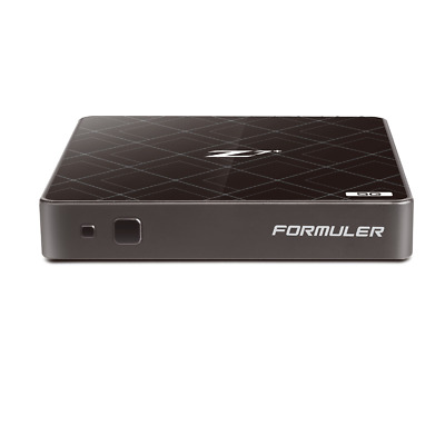 Formuler Z7+ 5G 4K UHD IPTV Android 7 Media Player H.265 HEVC 5GHz WLAN, Schwarz