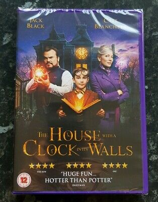 The House With A Clock In Its Walls DVD *BRAND NEW & SEALED* FREE 1ST P&P