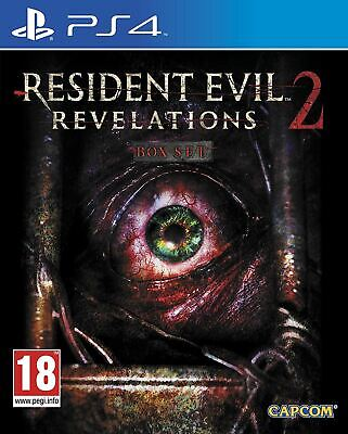 Resident Evil Revelations 2 PS4 Brand New Sealed Official Game PEGI 18