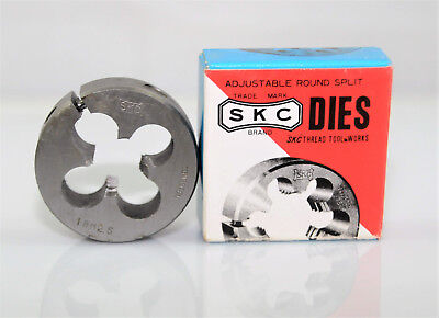 "M18x2.5 Adjustable Button Die 2"" OD, SKC Thread Tool Carbon Tungsten Steel."