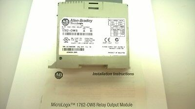Allen-Bradley 1762-OW8 Series A 8 PT. VAC/VDC Relay Output Series A Revision B