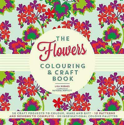 The Flowers Colouring & Craft Book, New Books