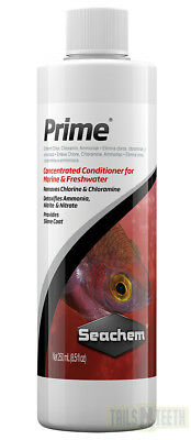 Seachem Prime 250ml Concentrated Conditioner for Freshwater or Marine