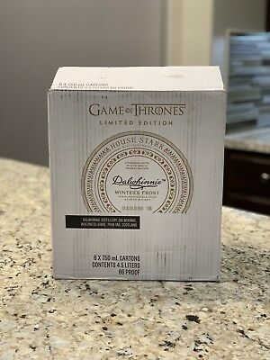 Limited Edition Game Of Thrones House Stark Dalwhinnie Whisky Box