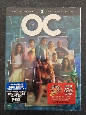 The OC The Complete Second Season DVD Box Set, Season 2 Brand New Factory Sealed