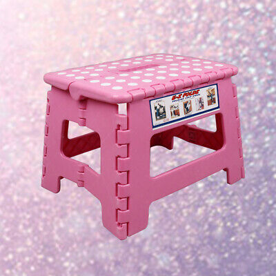 1pc Plastic Folding Portable Thick Collapsible Chair for Closet Bathroom Kitchen