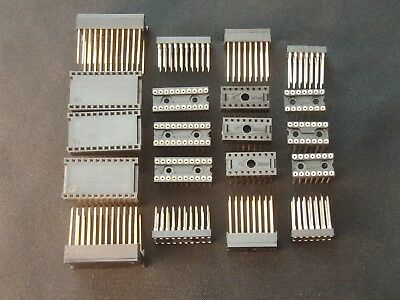 20 Wire-Wrap Sockets (5 of ea) 14-Pin 16-Pin 20-Pin & 24-Pin IC DIY Arduino NOS