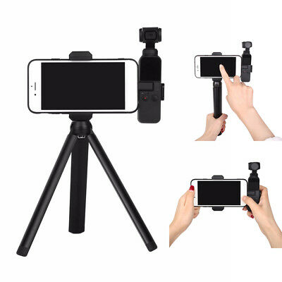 Extened Tripod Rod for DJI OSMO POCKET Handheld Gimbal Phone Fixing Clamp Holder