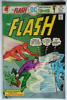 The Flash Vol 1 #238 December 1975 (Vf Condition)