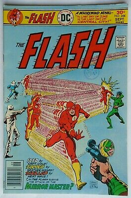 The Flash Vol 1 #244 September 1976 (Nm Condition)