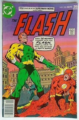 The Flash Vol 1 #253 September 1977 (Vf Condition)