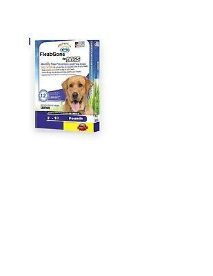 Dog Flea Prevention and Killer 2 - 10 LBS 12 Dose Raw Truth Pet Health