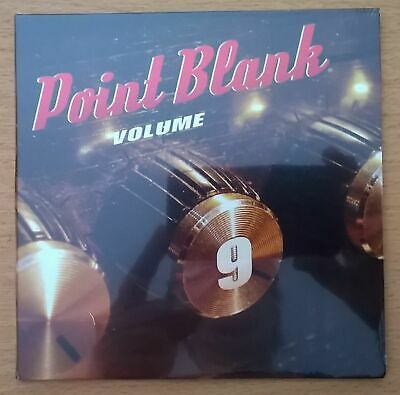 POINT BLANK Volume 9 - CD NEUF scellé / mint sealed - SIlver CD not CD-R edition