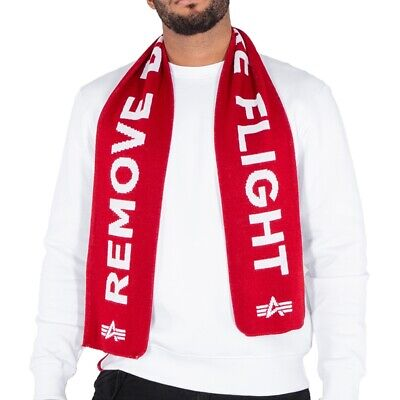 Alpha Industries Unisex Bufanda Remove Before Flight Winter Nuevo