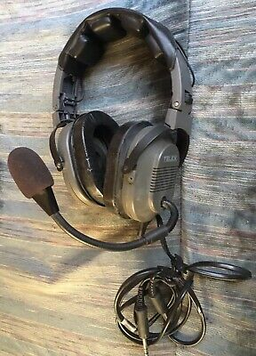 TELEX Aviation Pilot Headset - Dual Plug