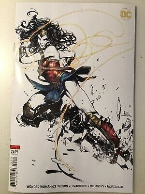 Dc Comics: Wonder Woman 63 Shirahama Variant Nm