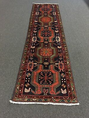 """On Sale Great Hand Knotted Persian Ardabil,Tabrizz, Rug Runner Carpet 2'8""""x10'3"""""""