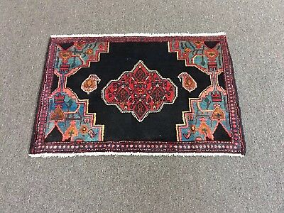 """On Sale Beautiful Hand Knotted Persian Area Rug Geometric Carpet 2'2""""x3'3"""""""
