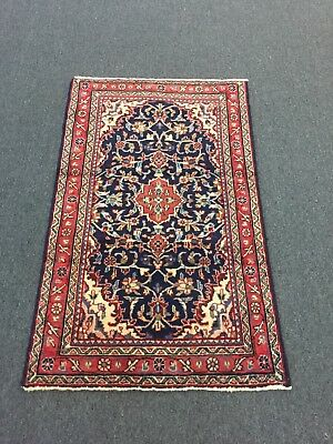 On Sale Great Deal Hand Knotted Mahal-Sarouk Persian oriental Floral Rug 2'6x4'2