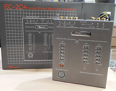 Nakamichi EC-204 CROSSOVER 2 WAY NEW IN BOX OLD SCHOOL  MADE IN JAPAN shipped