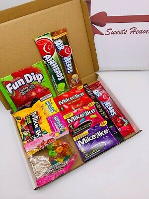 American Sweets Selection Gift Box   Airheads/Mike & Ike/Wonka   USA Candy Gift