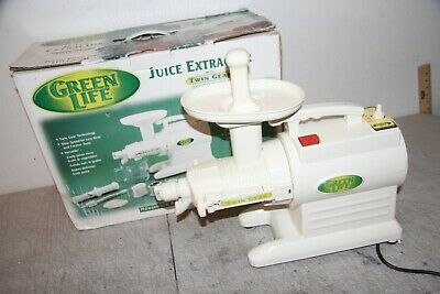 4a2b8cfc9fd7 Tribest-Juicer Green Star Complete Juice Extractor GS-2000 Read Description