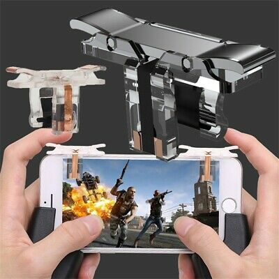 Mobile Smartphone Gamepad Controller Fire Button PUBG Shooter Gaming Trigger