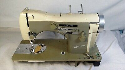 Vintage Necchi BU Supernova heavy duty industrial sewing machine parts or repair