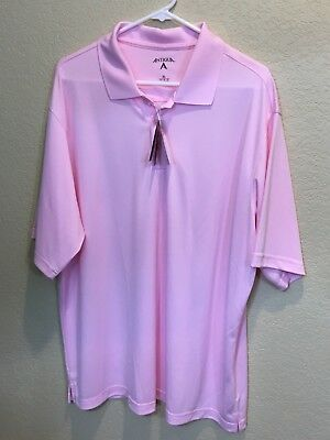 80cc59f3 NWT men's Antigua wicking golf shirt / polo size XL Desert Dry Xtra-Lite
