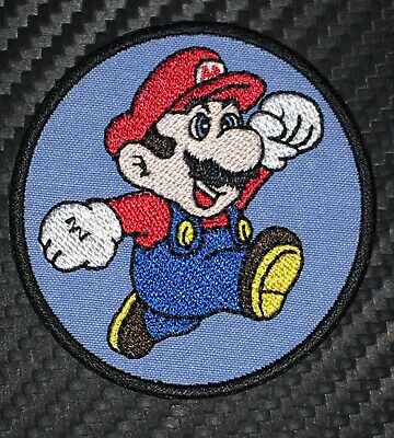 """2.5/"""" SUPER MARIO BROS SHY GUY SHYGUY EMBROIDERED IRON ON PATCH BADGE"""