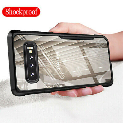 For Samsung Galaxy S10 Plus S10E Shockproof Hybrid Bumper Clear Hard Case Cover