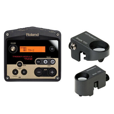 ROLAND TM2 TRIGGER Module and RT-30K & RT-30H Drum Trigger