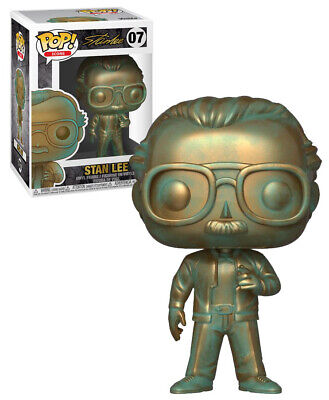 Funko POP! Icons Stan Lee #07 Stan Lee (Patina) - New, Mint Condition