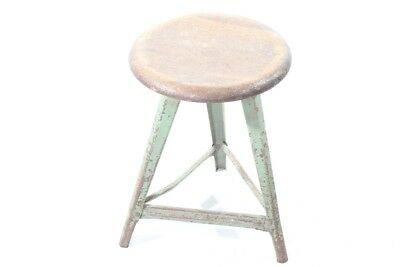 Original Rowac Stool Art Deco Workshop Stools Vintage Bauhaus Designer